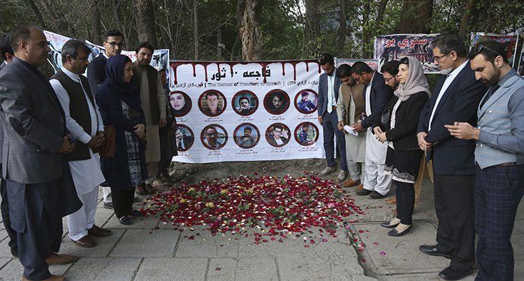Dödade journalister hyllades