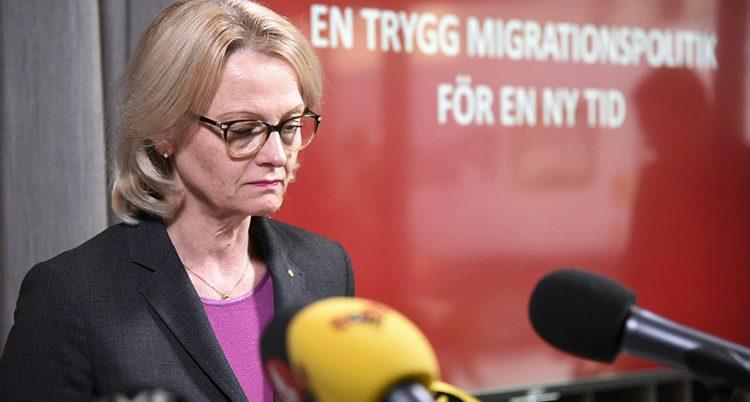 Ministern Helene Fritzon