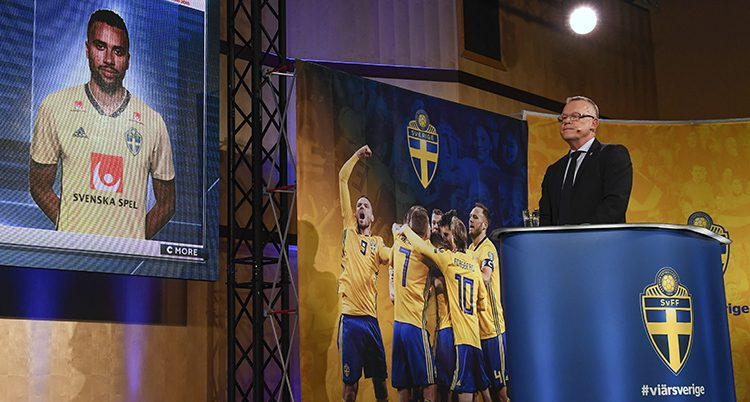 Sveriges lagledare Janne Andersson