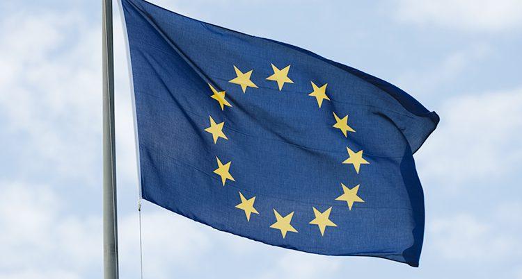 EUs flagga