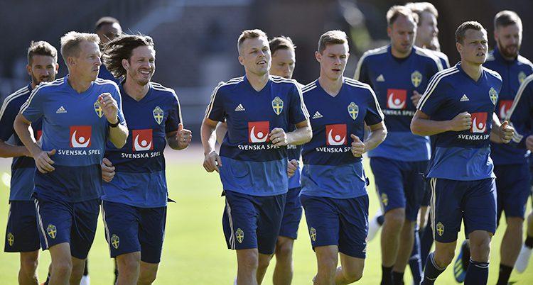 Landslaget tränar för VM