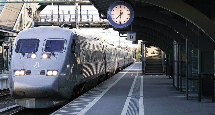 ett tåg
