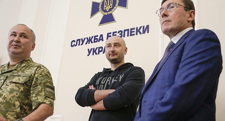 Journalisten Arkadij Babtjenko