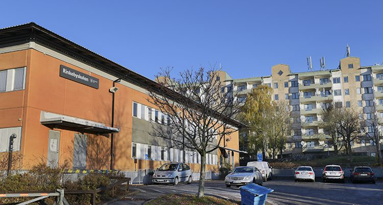 Rinkebyskolan i Stockholm.
