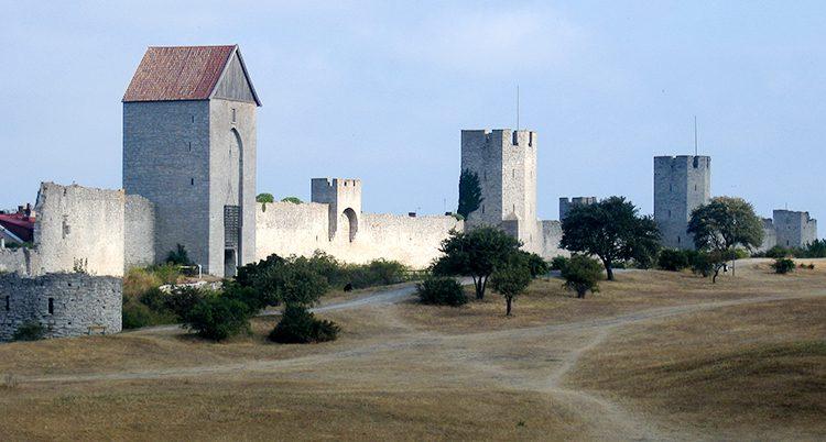 Ringmuren i Visby.