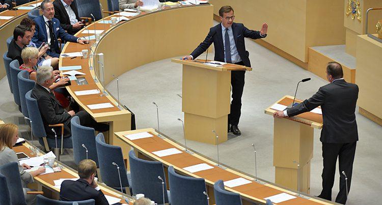 Debatt i riksdagen
