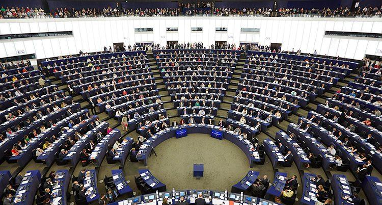 EUs riksdag i Strasbourg.