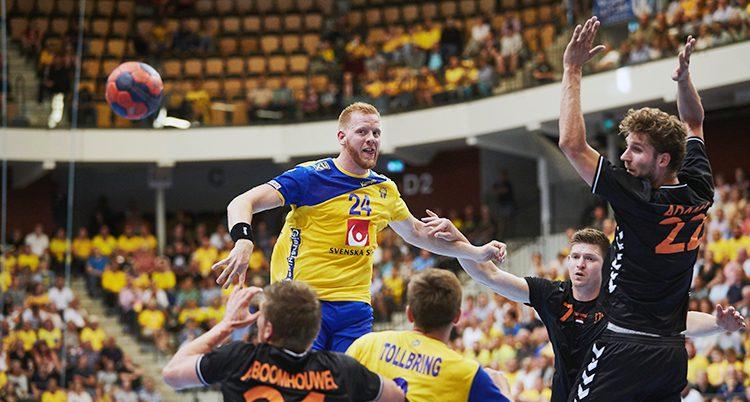 Sverige vann mot Nederländerna