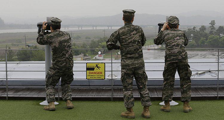 Soldater i Sydkorea