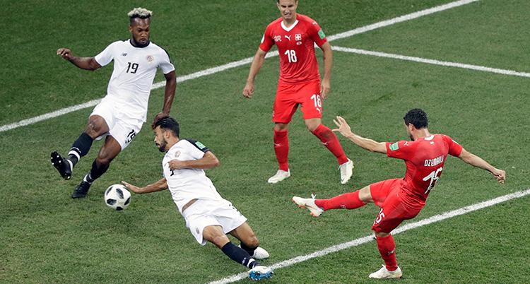 Russia Soccer WCup Switzerland Costa Rica