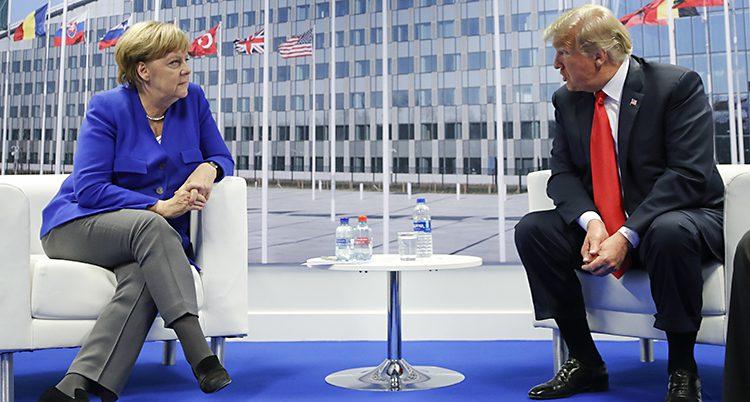 Merkel och Trump