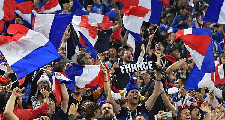 Russia Soccer WCup France Belgium