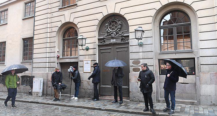 Huset där Svenska Akademien arbetar