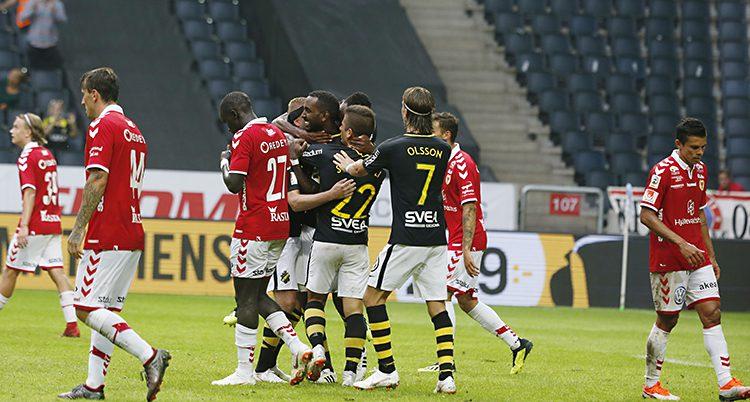 AIK firar målet mot Kalmar