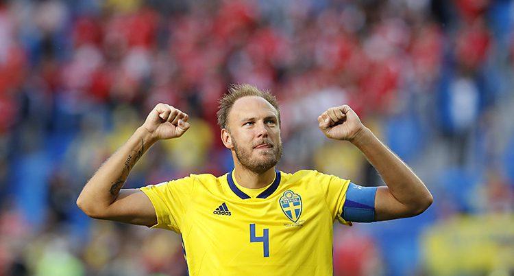 Andreas Granqvist i VM