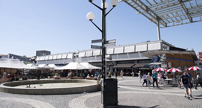 Vällingby torg i Stockholm.