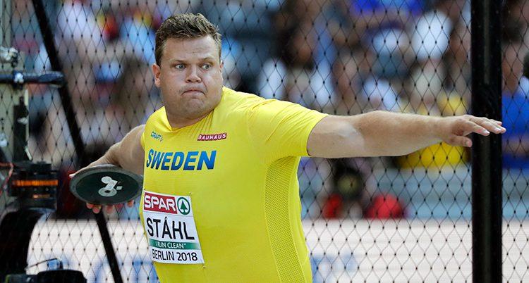 Daniel Ståhl tog silver