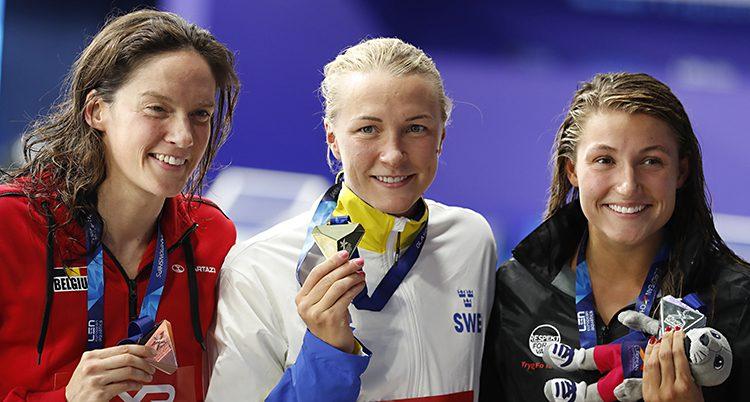 Sarah Sjöström vann guld igen
