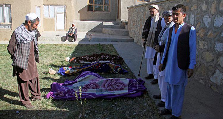 Döda människor i Afghanistan