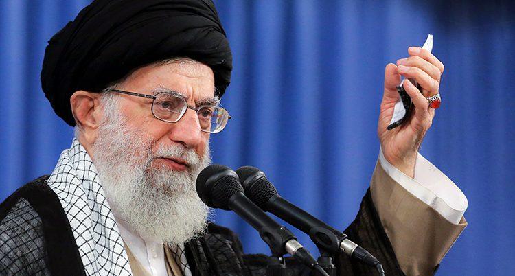 Irans ledare Ali Khamenei.