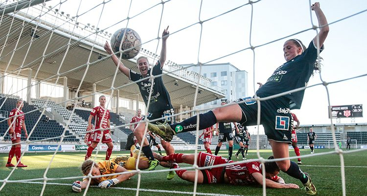 Linköping i en match i allsvenskan