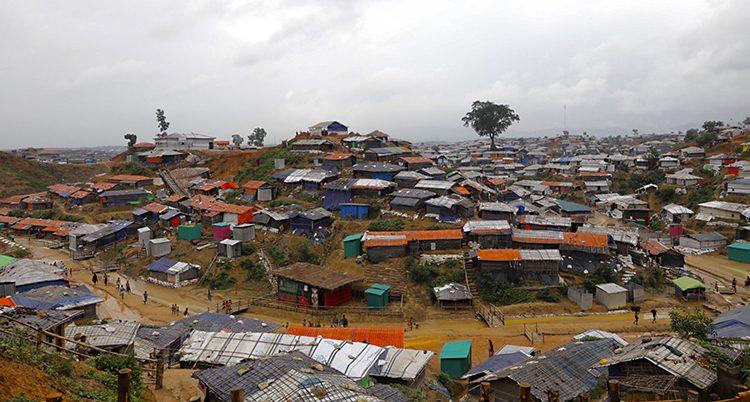 Flyktinglägret i Bangladesh