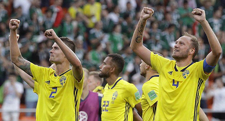 Svenska spelare jublar