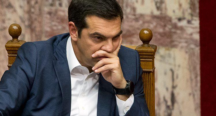 Greklands ledare Alexis Tsipras