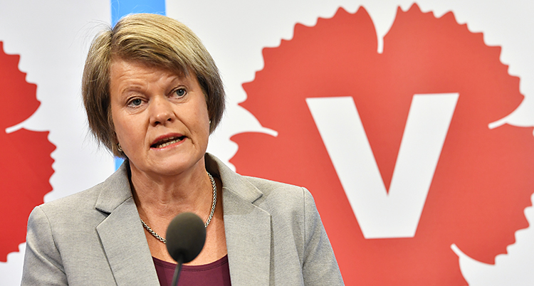 Ulla Andersson i Vänsterpartie