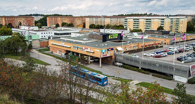 Området Hallunda i Stockholm.