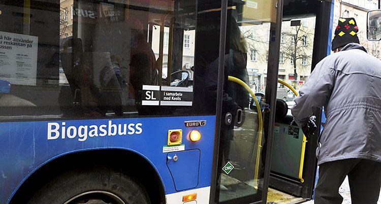 En buss i Stockholm