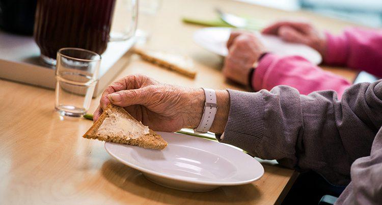 Bild från ett äldreboende i Hägersten i Stockholm.