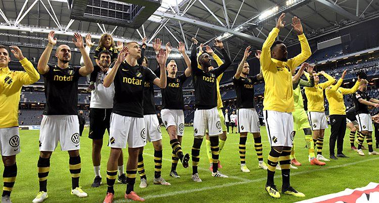 AIKs spelare tackar publiken