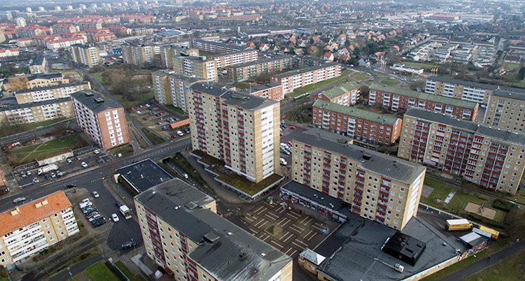 Området Nydala i Malmö