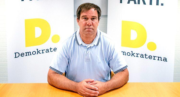 Martin Wannholt är ledare för Demokraterna.