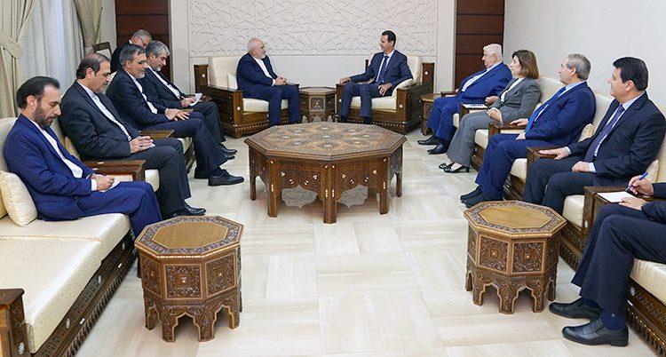 Syriens ledare Bashar al-Assad