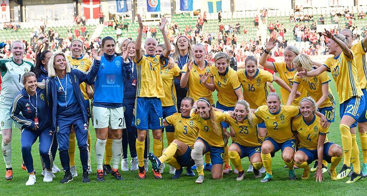 Sveriges damlag i fotboll