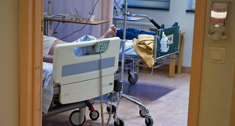 Ett sjukhus.