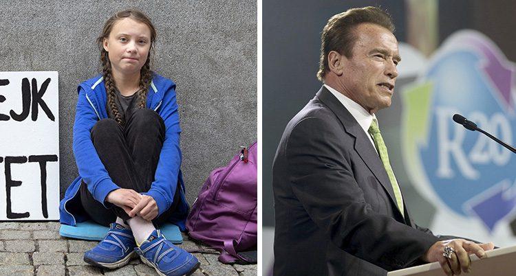 Greta Thunberg ska få träffa Arnold Schwarzenegger