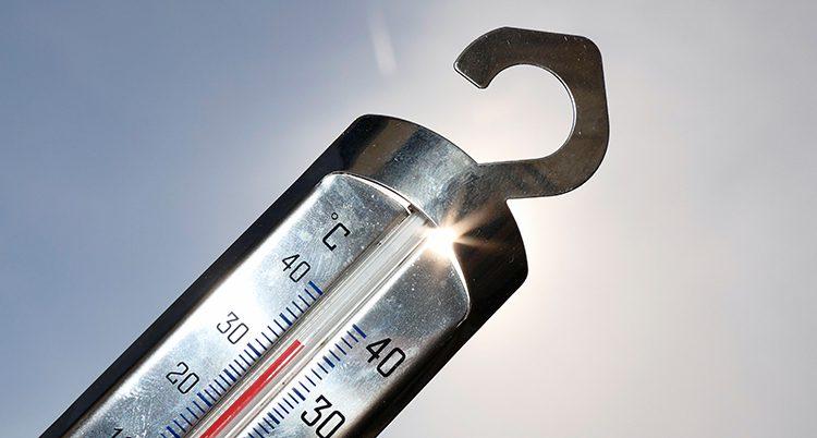 En termometer