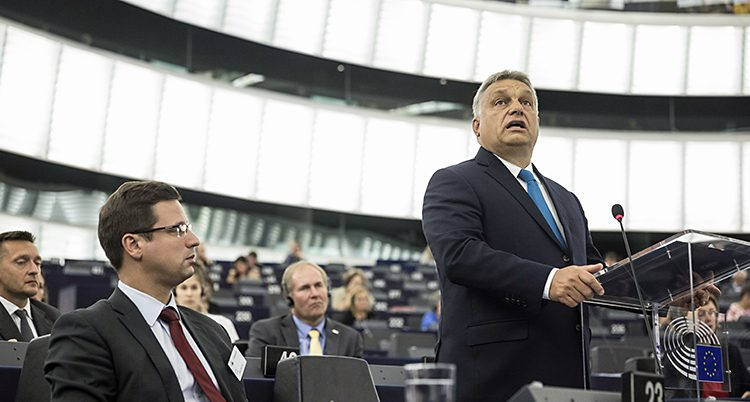 Ungerns ledare Viktor Orbán