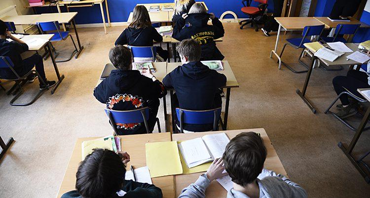 Elever i en skola