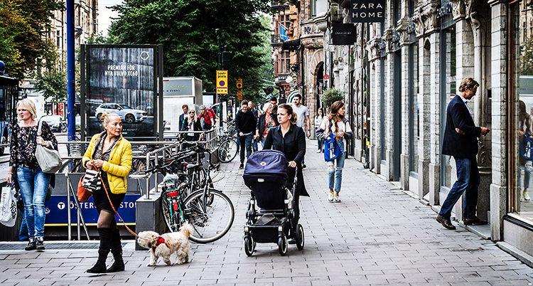 En gata i Stockholm