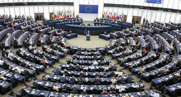 Politiker i EU-parlamentet.