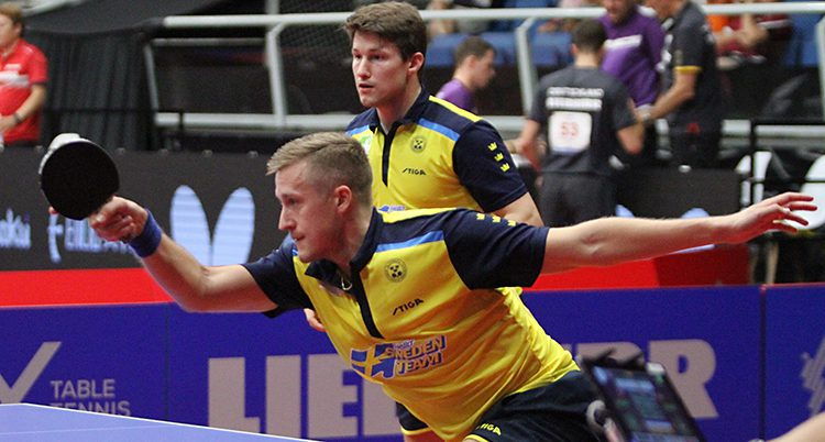 Mattias Falck och Kristian Karlsson tog silver