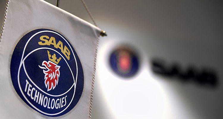 Saab tillverkar flygplan