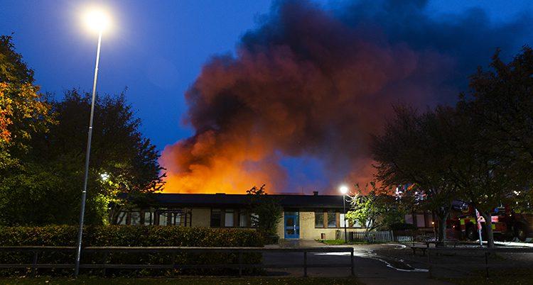 Branden i Gottsundaskolan