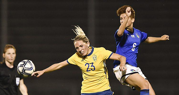 Sverige förlorade mot Italie