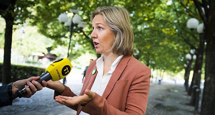 Sveriges miljöminister Karolina Sko