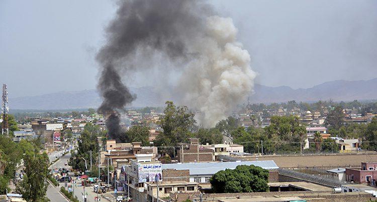 En bomb har sprängts i Afghanistan